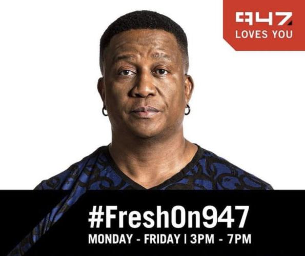 DJ FRESH JOINS 947 AS NEW DRIME TIME HOST #FRESHON947