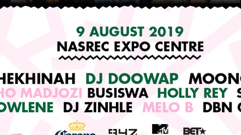 MTV BASE AND BET AFRICA PARTNER WITH SHEKHINAH ON AN ALL FEMALE LINE UP AND PRODUCTION, ROSEFEST!