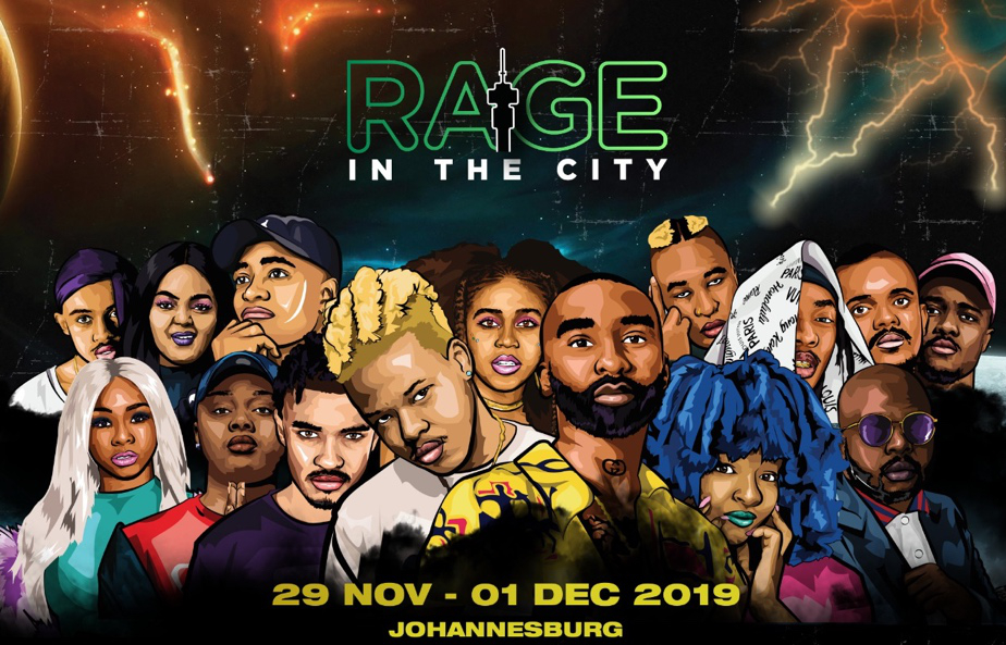 RAGE IN THE CITY IS SET TO TAKE OVER THE CITY THIS SUMMER