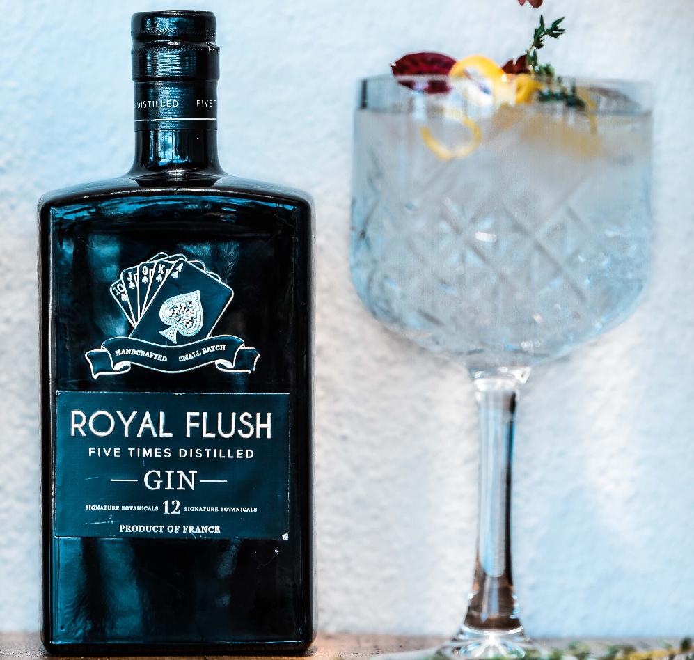 Royal Flush Gin wins GOLD at the Gin Masters London 2019