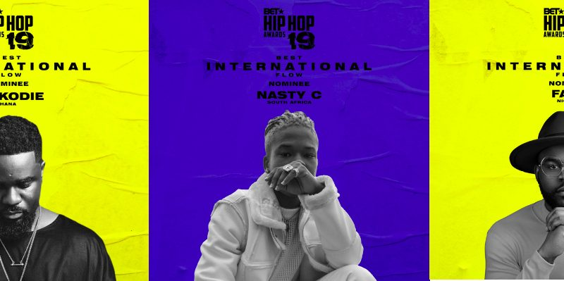 BET HIP HOP AWARDS BEST INTERNATIONAL FLOW NOMINEES
