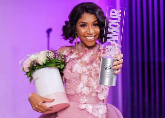 Blue Mbombo named Glamour's Most Glamourous 2019