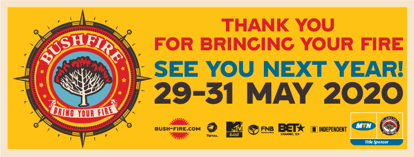 MTN BUSHFIRE EARLY BIRD TICKETS HAVE SOLD OUT!