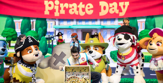 "PAW PATROL LIVE! ""THE GREAT PIRATE ADVENTURE"" ANNOUNCES SOUTH AFRICA TOUR"