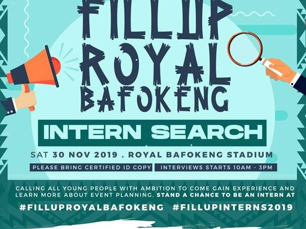 Cassper Nyovest's Intern Search returns with #FillupRoyalBafokeng