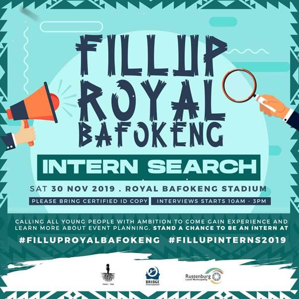Cassper Nyovest's Intern Search returns with #FillupRoyalBafokeng
