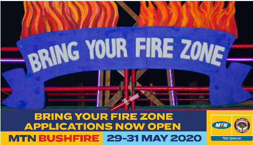 Bring Your Fire Zone Applications Now Open: MTN Bushfire 2020