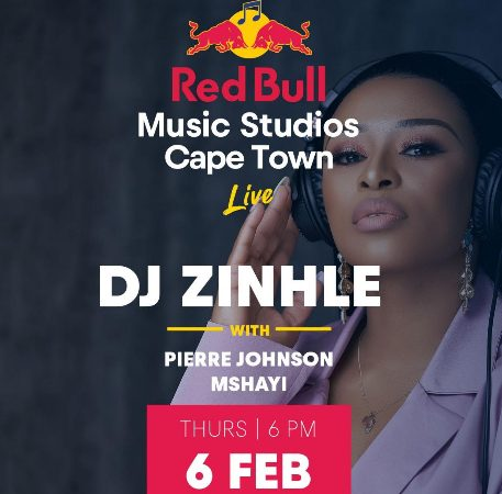 DJ ZINHLE HEADLINES INAUGURAL RED BULL MUSIC STUDIOS LIVE