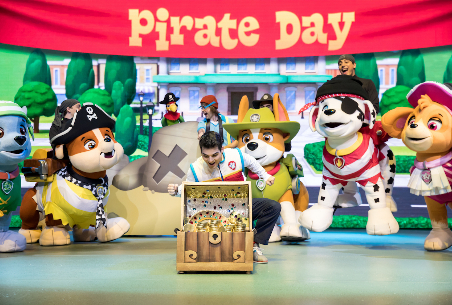 "ALL PAWS ON DECK FOR THE  ""THE GREAT PIRATE ADVENTURE""  PAW PATROL LIVE! SOUTH AFRICAN TOUR"