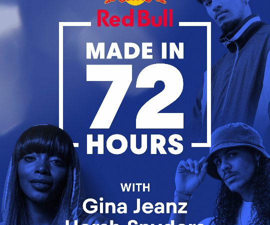 Three Artists Create New Music in 72 Hours with Red Bull