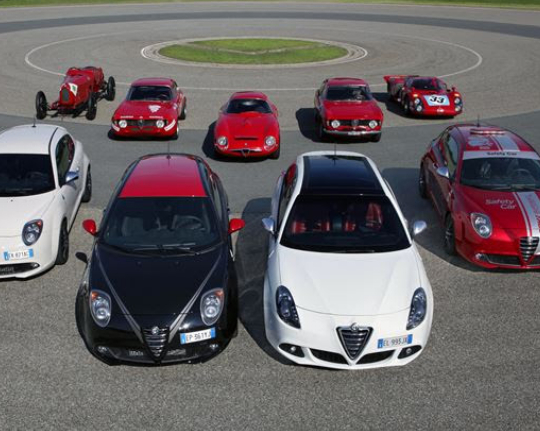 QUADRIFOGLIO: LUCKY FOR SOME / ALFA ROMEO'S LUCKY PERFORMANCE STAMP