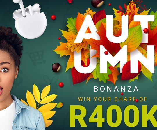 HUAWEI goes big with April Autumn Bonanza, with over R400,000 in prizes to be won