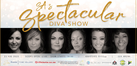 Famous women to share a message of hope with South Africa!