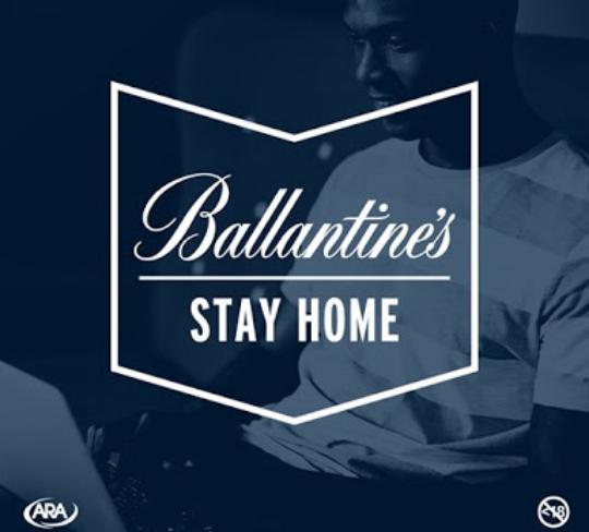 Lockdown the Ballantine's way