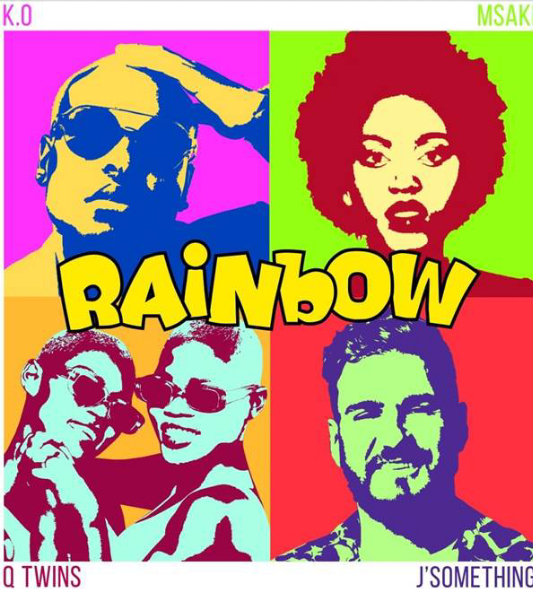 K.O, J'Something, Msaki and Q-Twins join forces to release SA's song of hope, Rainbow