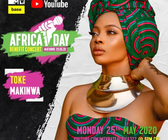 AFRICA DAY BENEFIT CONCERT AT HOME ROUNDS UP LINE-UP WITH A STAR-STUDDED LIST OF AFRICA MUSICIAN'S AND GLOBAL GUEST