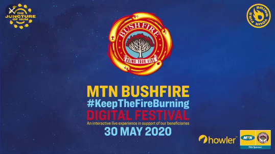 THE #KEEPTHEFIREBURNING DIGITAL FESTIVAL – ARTISTS ANNOUNCED