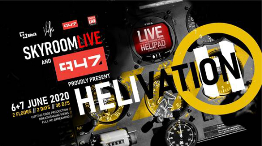 HELIVATION SET TO TAKE LIVE-STREAMED MUSIC EVENTS TO NEW HEIGHTS