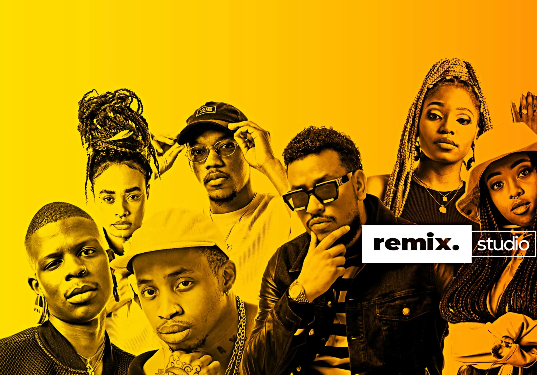 EXCITING NEW MUSIC SHOW 'REMIX.STUDIO'  SET TO SHAKE THINGS UP   PREMIERES FRIDAY 5TH JUNE WITH AKA AND DEE KOALA  RIVETING PAN AFRICAN LINE-UP SET FOR SEASON ONE