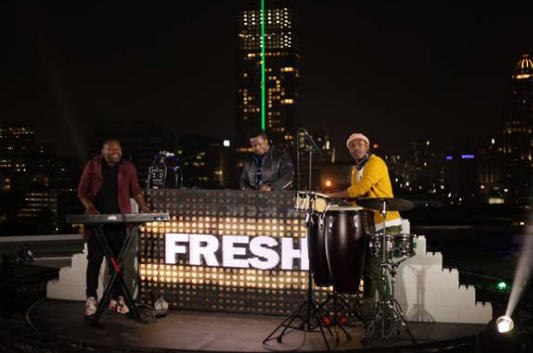 LIVE MUSIC STREAM FESTIVAL, HELIVATION TAKES OFF ON SANDTON HELICOPTER PAD