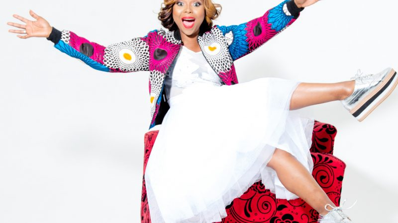 RADIO AND TV PERSONALITY MPHO LETSHOLONYANE SPREADS LOVE AND CHEER DURING LOCKDOWN