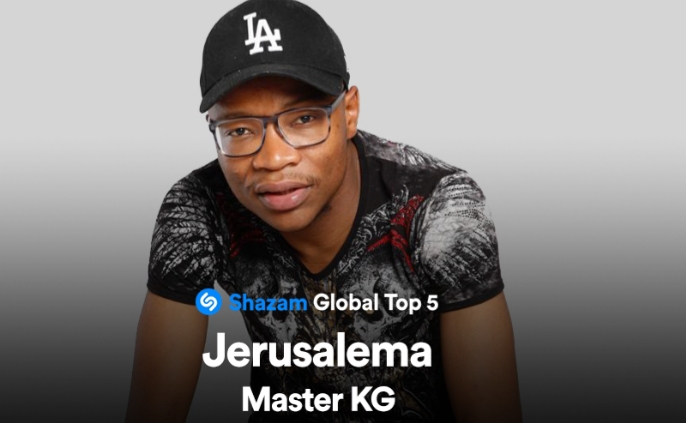 Global hit 'Jerusalema' reaches #4 on Shazam's Top 200