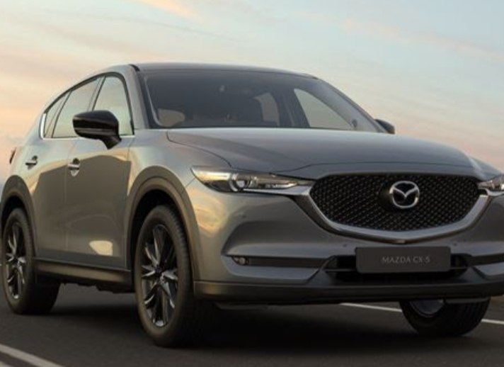 Mazda introduces a new addition to the current CX-5 model range. The Mazda CX-5 2.0L Carbon Edition FWD