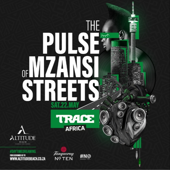 TRACE AFRICA BRINGS IT HOME TO MZANSI  COUNTDOWN TO THE'TRACE AFRICA TAKEOVER' PARTY            