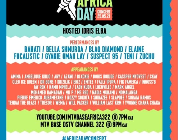 AFRICA DAY CONCERT 2021 FEATURES STAR-STUDDED APPEARANCES FROMANGELIQUE KIDJO, FALLY IPUPA, YVONNE CHAKA CHAKA & MORE CELEBRATING THE NEXT GLOBAL WAVE
