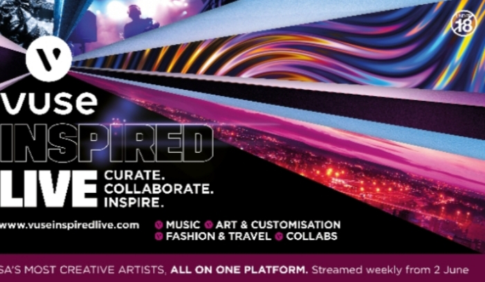 IMMERSE YOURSELF IN VUSE INSPIRED LIVE, A FESTIVAL OF INSPIRATION