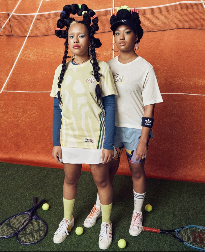 ADIDAS COLLABORATES WITH RICH MNISI AND THEBE MAGUGU ON THE 2021 LOVE UNITES PRIDE CAMPAIGN