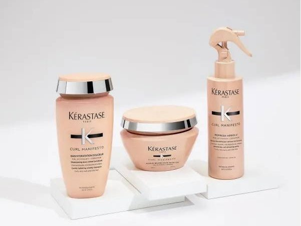 Kérastase calls for the liberation of curly hair with their all-new curl manifesto range 